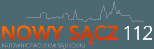 Nowy Sącz 112 - Ratownictwo Ziemi Sądeckiej [logo]